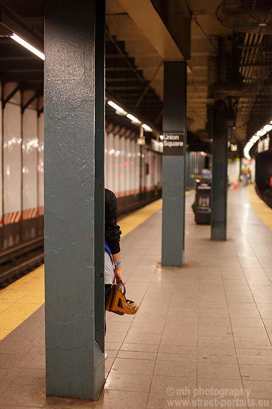 shoes - nyc underground station union square
