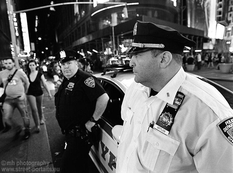 the officer - time square nyc