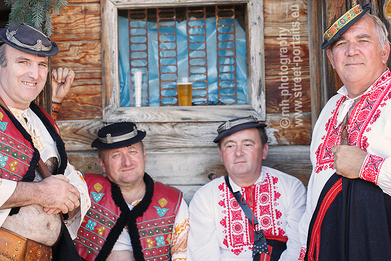 musicians - hontianska paráda - hrušov - slovakia