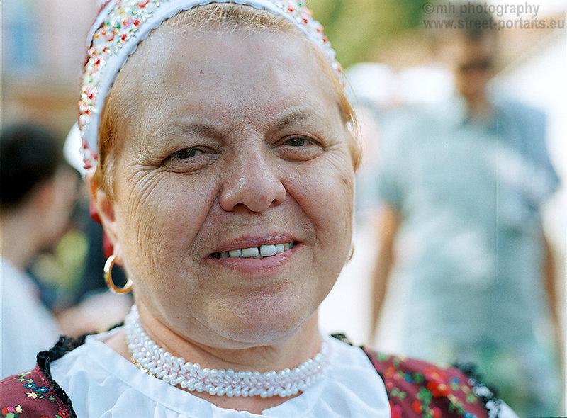 traditional lady 2 - hontianska paráda - hrušov - slovakia