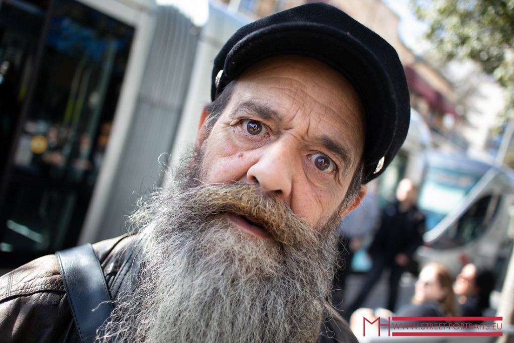 Moshe - street photographer Jerusalem